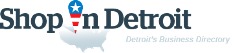 ShopInDetroit. Business directory of Detroit - logo
